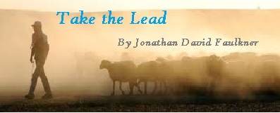 Take the LEad Banner